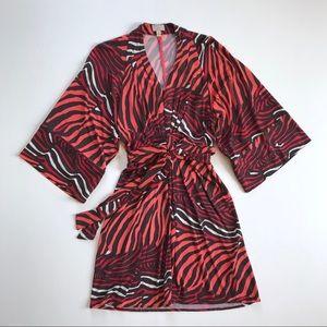 Banana Republic Issa London Zebra Print Dress 4